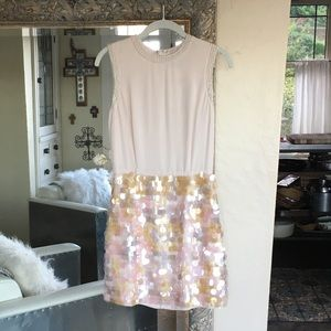 French Connection Shimmy Sequin Dress